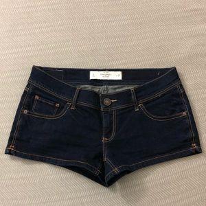 Abercrombie & Fitch Denim Short Shorts